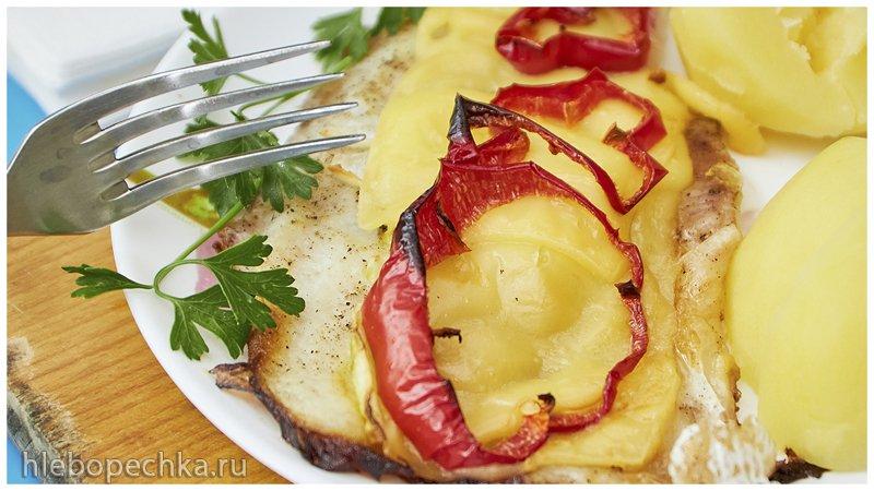 Ужин из рыбы и овощей: пангасиус с сыром и овощами (+видео)