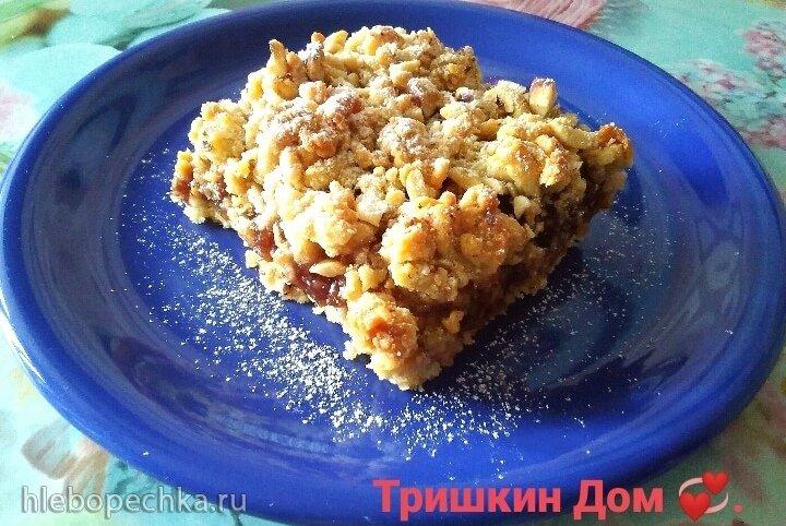 Тёртый пирог с овсянкой от Аси Воскресенской