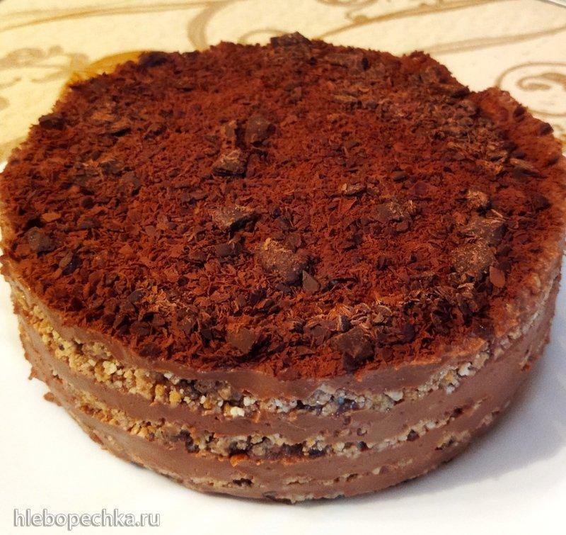 Торт почти трюфельный от Алёны Митрофановой (без выпечки)
