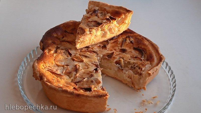Яблочный тарт (+видео)