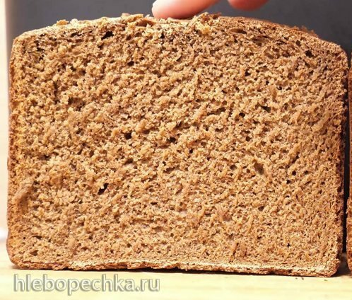 Ржаной хлеб с солодом в хлебопечи Panasonic SD-R2530 (+видео)