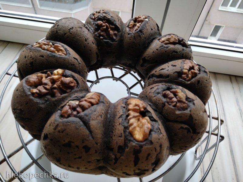 Торт Брауни диетический с баклажаном