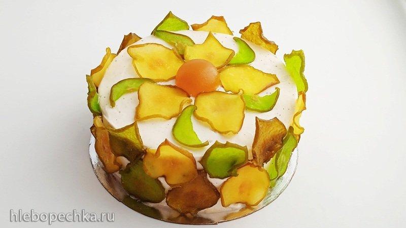 Грушевый торт Осень (+видео)