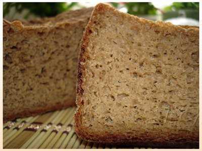 Ржаной Дарницкий хлеб (хлебопечка)