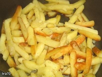 Картофель жаренный в скороварке LandLife