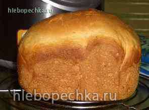 Хлеб на молоке    (автор Лариса)  (хлебопечка)