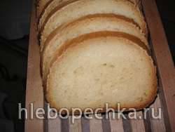 Молочный хлеб  (Автор dumbus) в хлебопечке