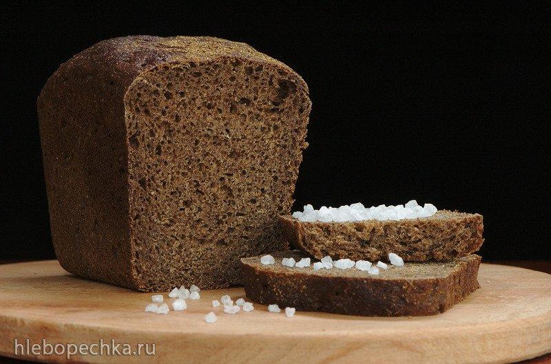 Хлеб из ржаной муки (при аллергии на пшеничную)