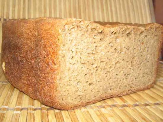 Ржаной «Бородинский» хлеб (Автор Лариса) (хлебопечка)