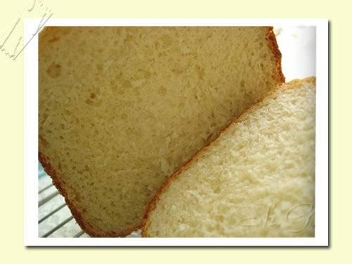 Яичный хлеб с пахтой (хлебопечка)
