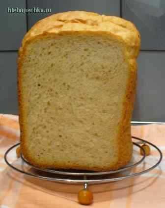 Овсяный сметанный хлеб
