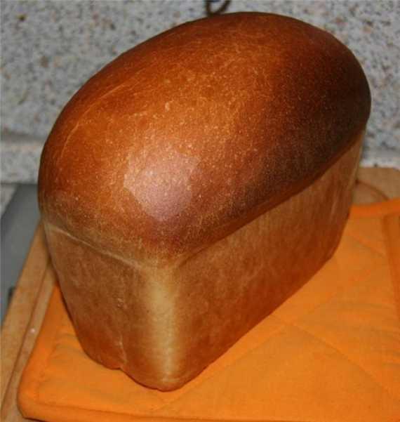 Бутербродный (тостовый) формовой хлеб (духовка)