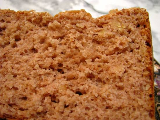 Пшенично - гречневый здоровый хлеб