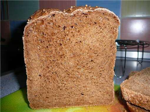 Бородинский московский хлеб (самый-самый простой и быстрый рецепт)