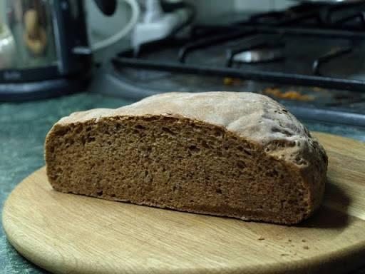 Деревенский хлеб в Moulinex OW 5004 (хлебопечка)