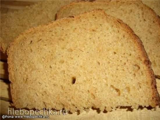Хлеб пшенично-ржаной долгой расстойки на холоде (духовка)