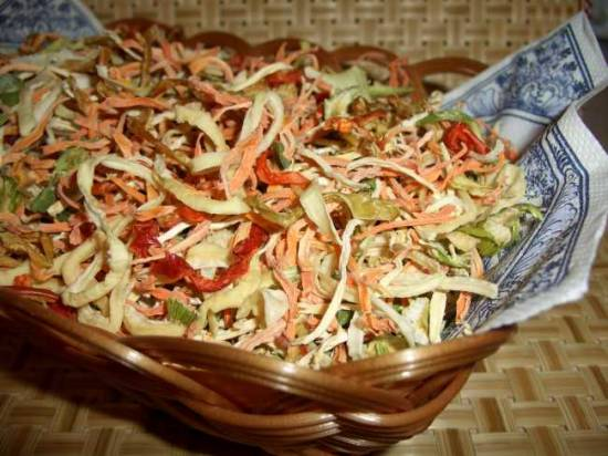 Готовим с сушеными овощами, фруктами, зеленью