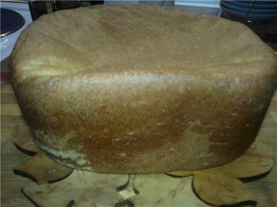 Хлеб пшенично-ржаной с сыром и прованскими травами