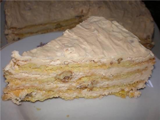 Торт с зефиром бананом и киви фото 3