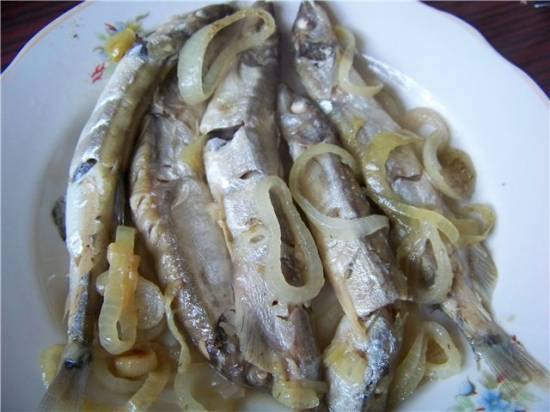 Рыба на шкаре