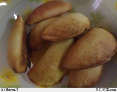 Пирожки творожные Гребешки