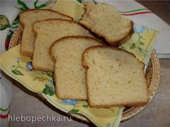 Хлеб пшеничный на сметане в духовке