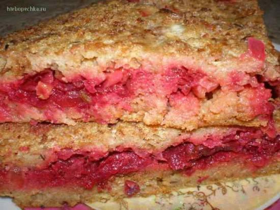 Пирог из ржаного хлеба