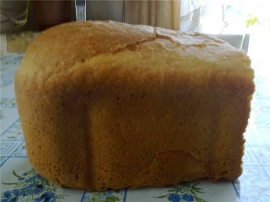 Итальянский хлеб с манкой  в хлебопечке