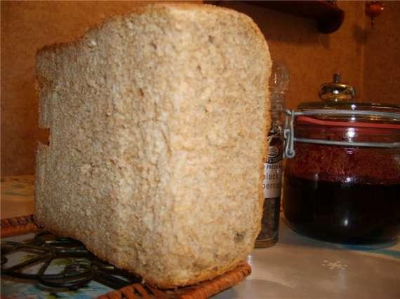 Пшеничный хлеб на мацони
