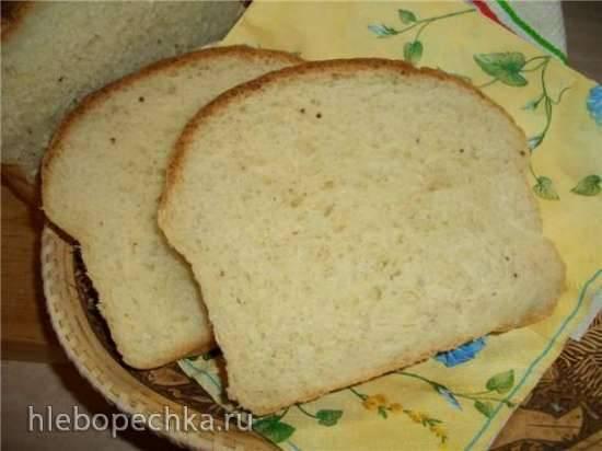 Хлеб пшеничный формовой с яблоком (духовка) Хлеб пшеничный формовой с яблоком (духовка)