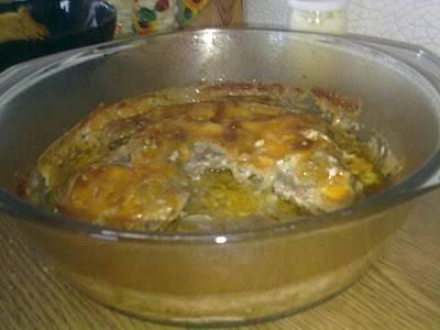 Говядина запеченная с сыром