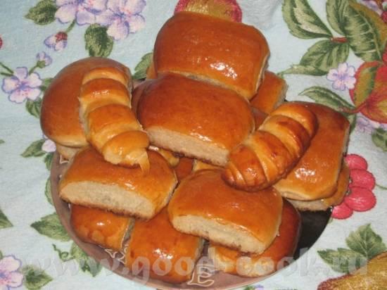 Пирожки из дрожжевого теста на кефире Пирожки из дрожжевого теста на кефире