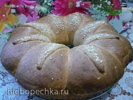 """Хлеб """"Кухаркина корона"""" Хлеб """"Кухаркина корона"""""""