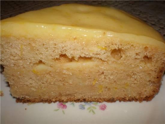 Торт с лимонным кремом-глазурью в мультиварке Panasonic SR-TMH18