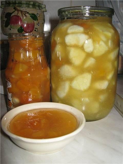 Варенье яблочное (рецепты)