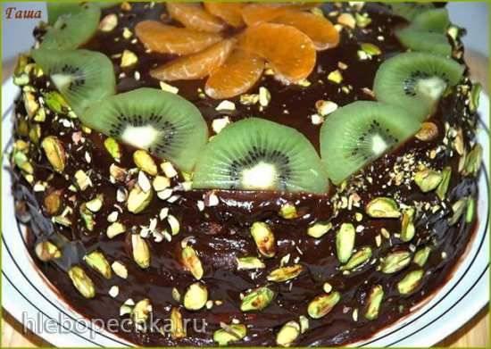 Торт Зелёный фисташковый