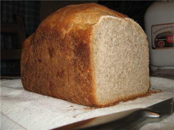 Moulinex. Пшенично-ржаной хлеб с яблоком