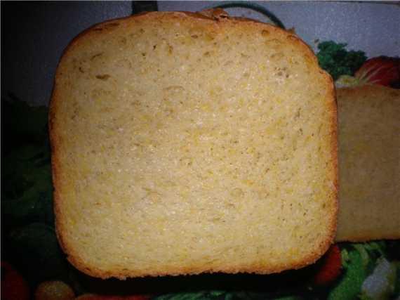 Хлеб пшенично-ржаной с тыквой в хлебопечке