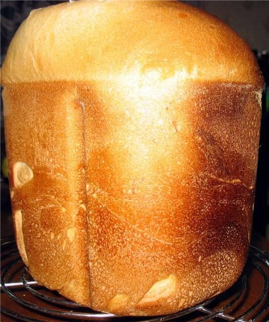 Хлеб на французской и хмелевой заквасках в ХП Panasonic SD-255
