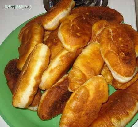 Тесто дрожжевое для жареных пирожков