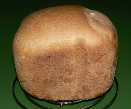 Хлеб на простокваше  (хлебопечка)