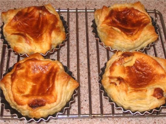 Пирожные «Настоящие португальские»