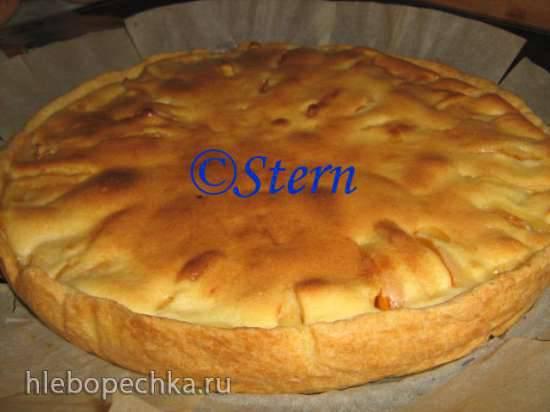 Пирог фруктовый по-французски