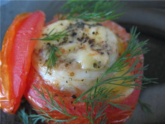 Филе телапии в помидорах