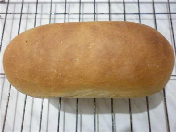Хлеб белый пшеничный на опаре по ГОСТу (духовка)