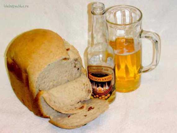 Сладкий хлеб с мёдом на хмельном мёде в хлебопечке