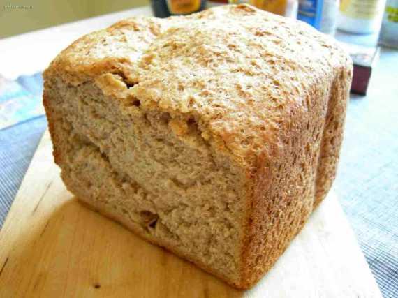 Ржаной хлеб с хлопьями