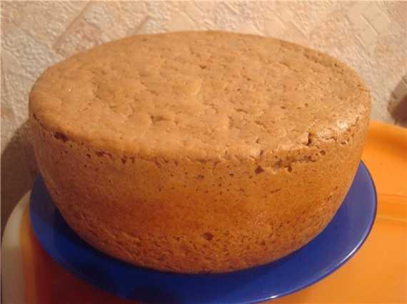 Пшеничный хлеб с желудевой мукой на опаре