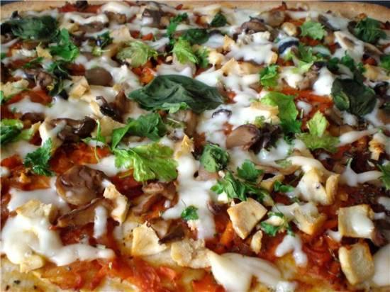 Тесто для пиццы «Идеальное»