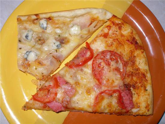 Тесто для пиццы итальянское